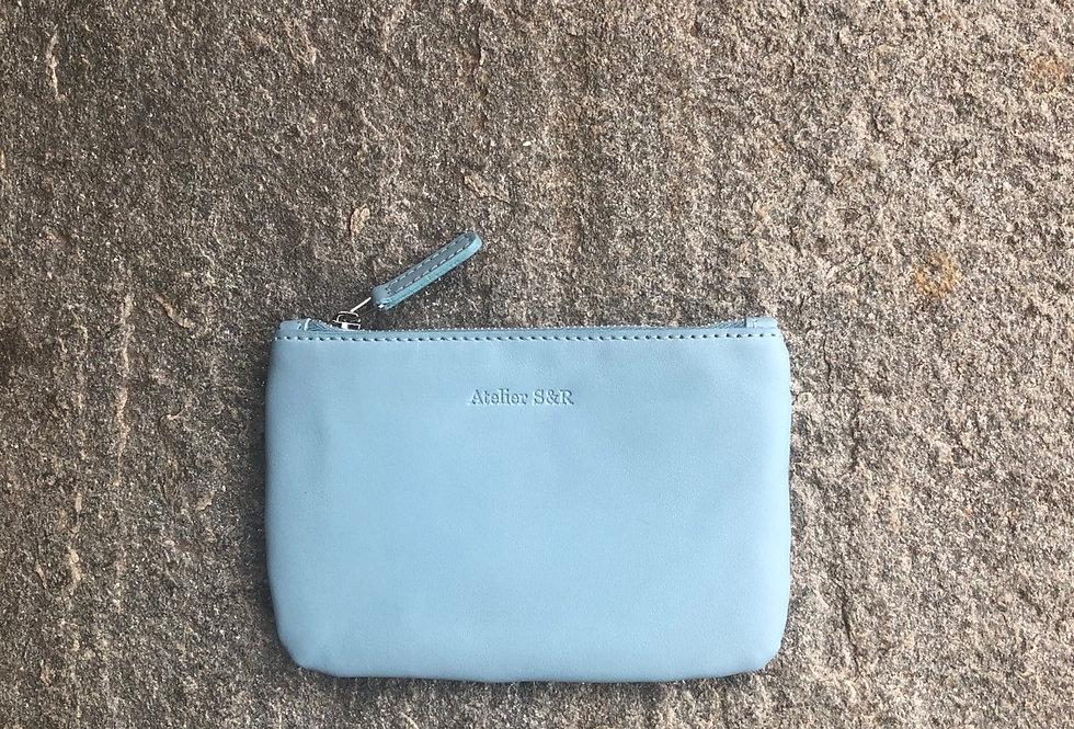 small wallet azzurro