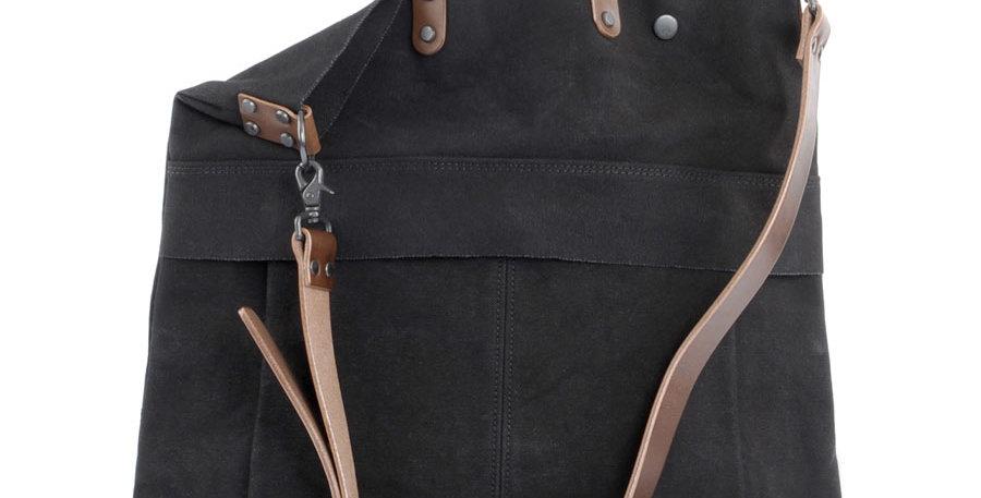 Baggy Port KBS Bag Black / Brown leather