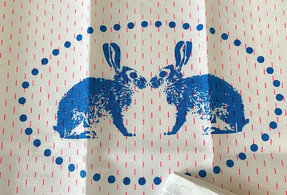 Geschirrtuch Hasen