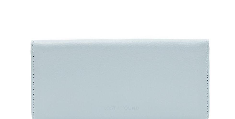 Slim Damenportemonnaie Ice Blue