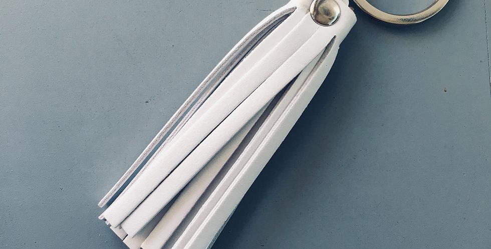 Keyholder Tassel White