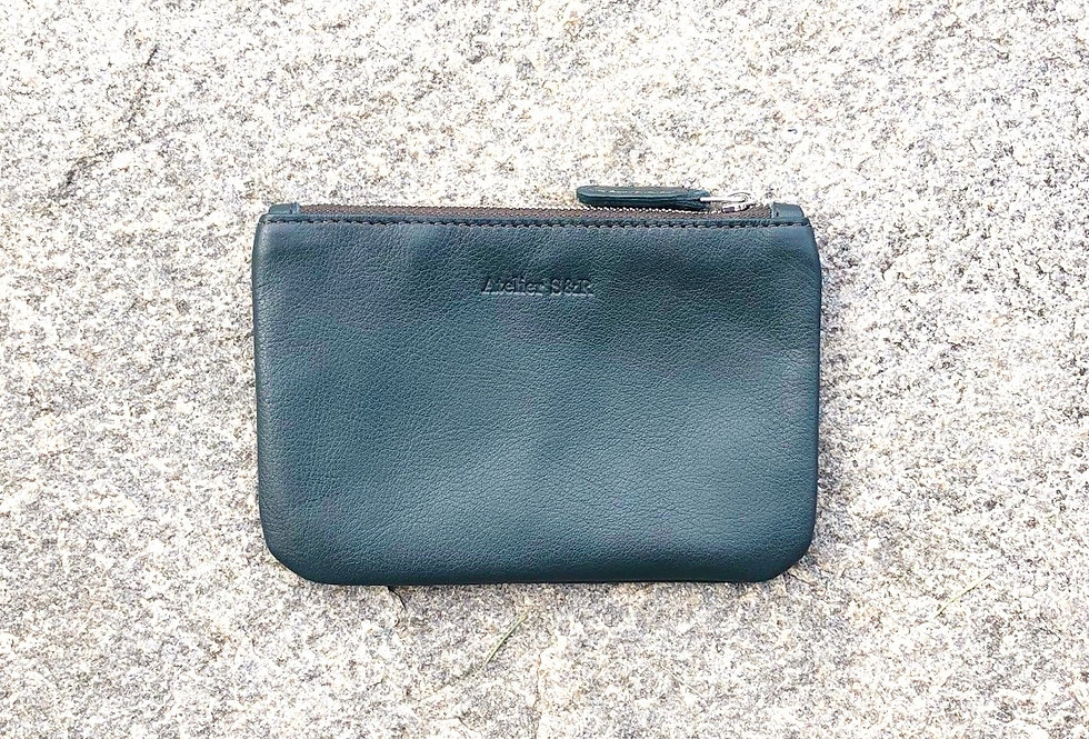 Small Wallet Pine (Green)