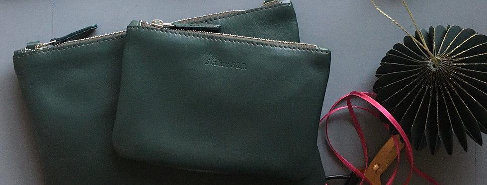 Geschenkset Little Bag Small Wallet grün