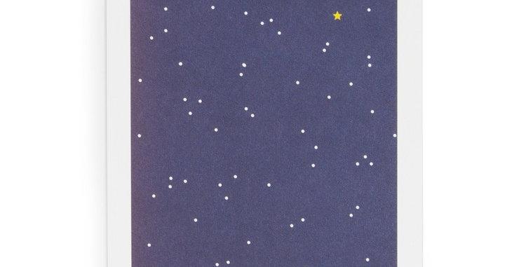 Postkarte Night Sky
