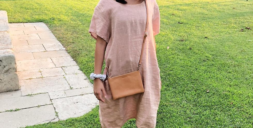Linen Dress - Rose