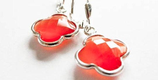Earrings Mandarin Silver