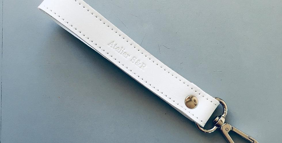 Keyholder long White