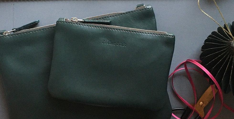 Geschenkset Little Bag Small wallet green