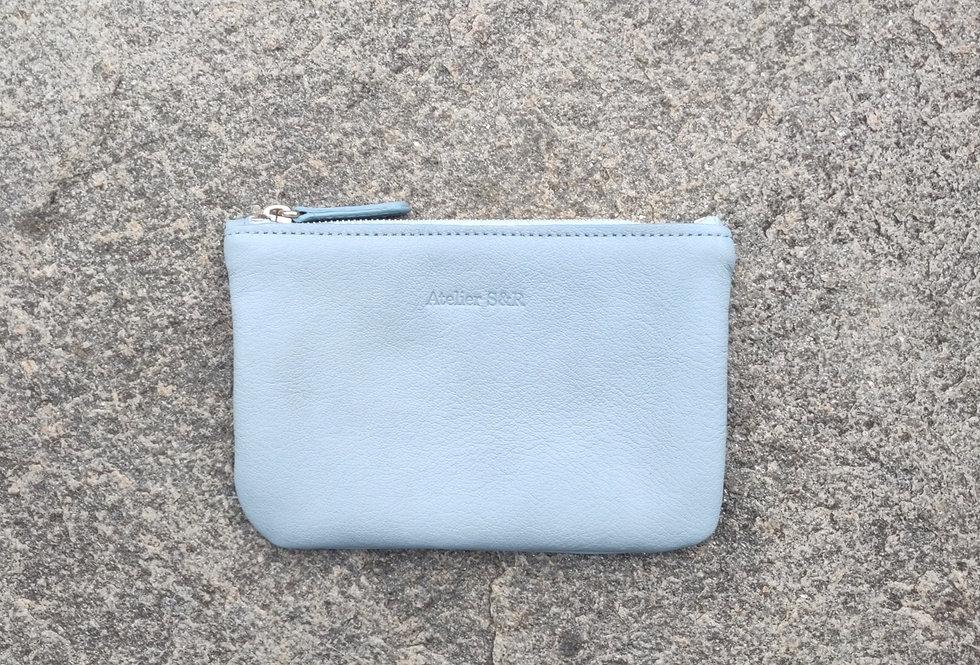 small wallet cielo - kleines portemonnaie hellblau
