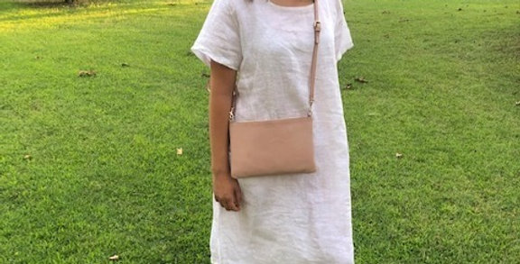 Linen Dress - White