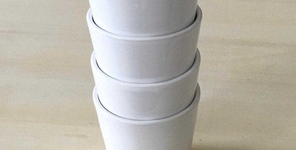 Coffee Cups - Steingut Tassen klein (2 Stück)