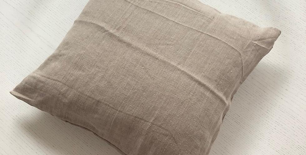 Linen Pillowcase Beige 50cm