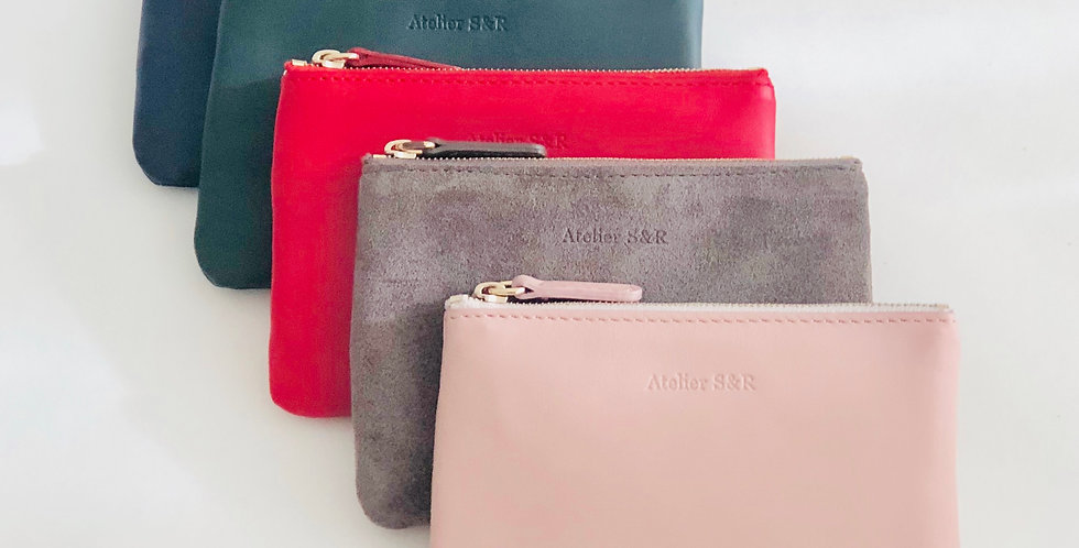 Small Wallet Red