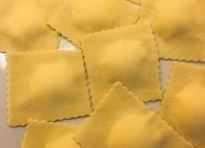 Zitronen-Ricotta Ravioli