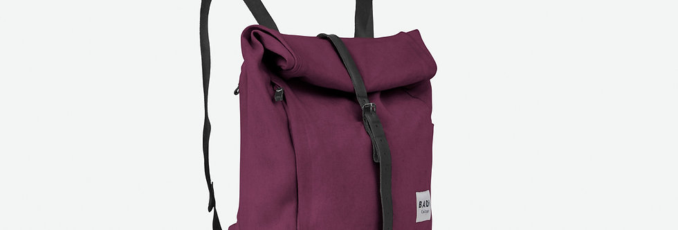 Roll Over Rucksack Bordeaux