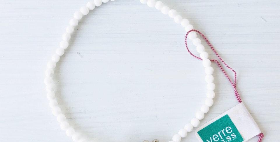 Bracelet Kascholong mit Silberperlen