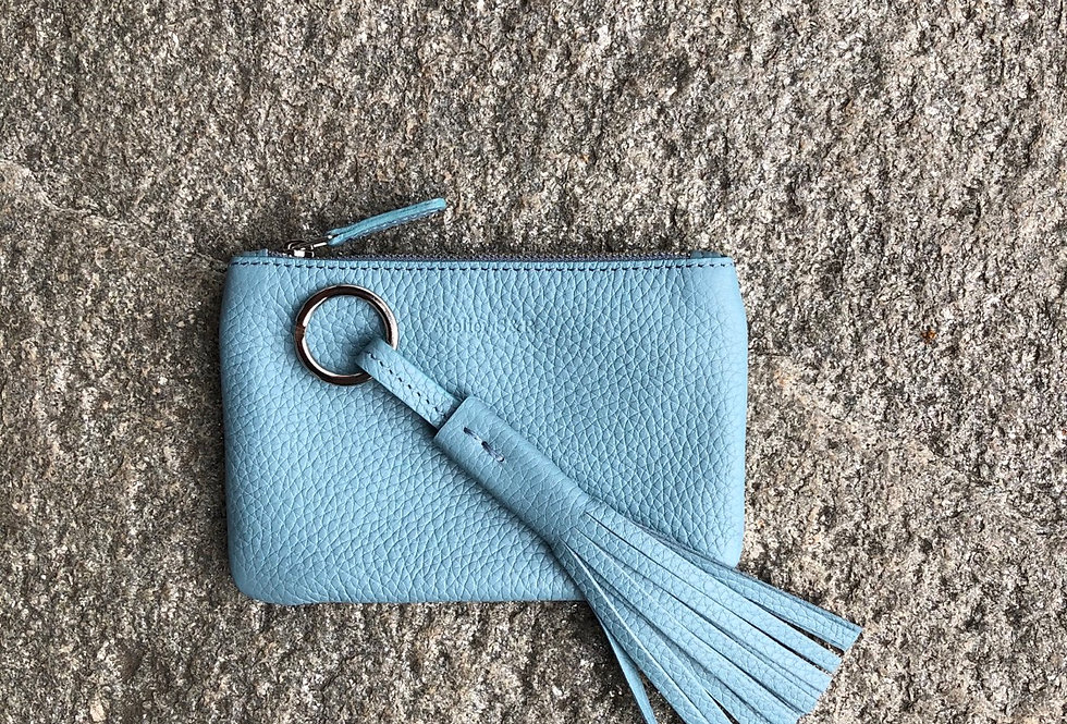 accessory set - dusty blue - wallet and keyholder