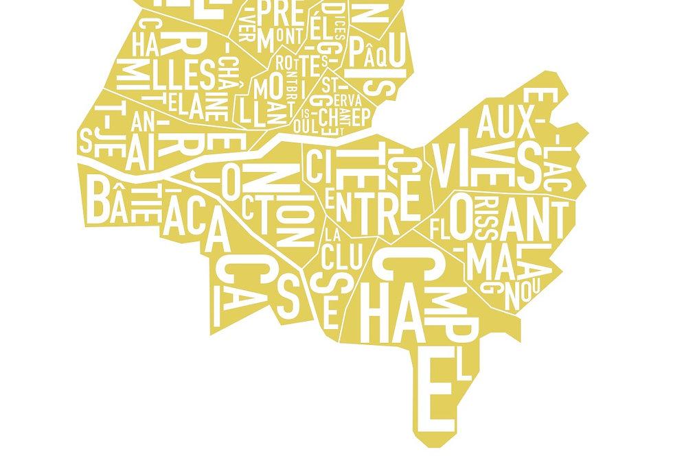 Geneva Serigraphie - Saffron
