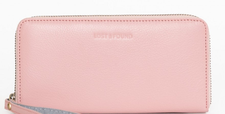 Big Zip Around Wallet Blush