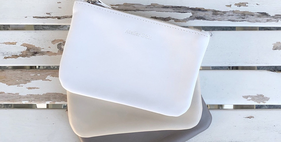 Small Wallet White