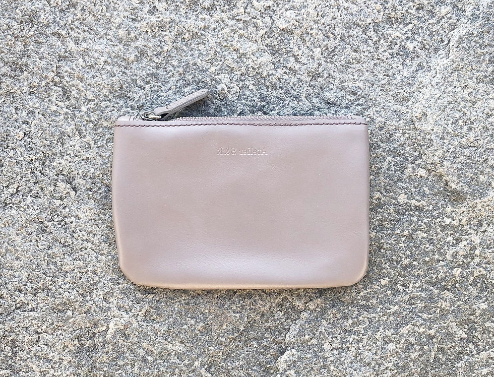 small wallet taupe