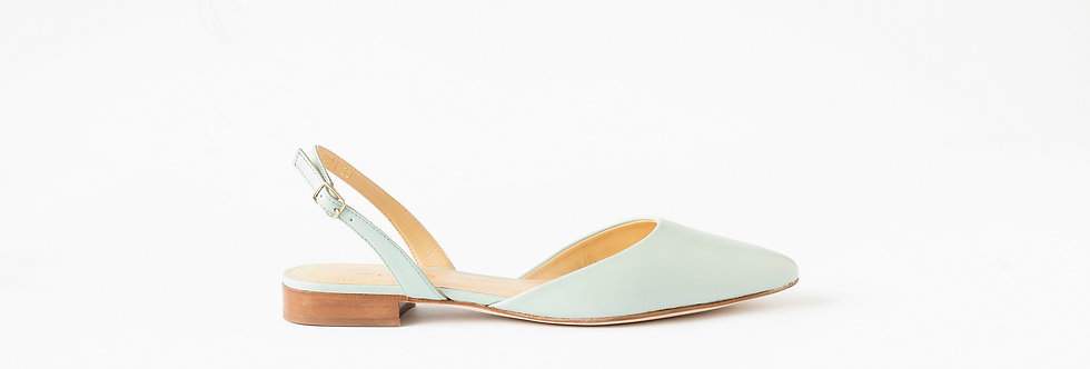 Sling Back - Soft Jade