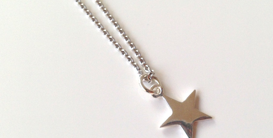 Kette Silber Star