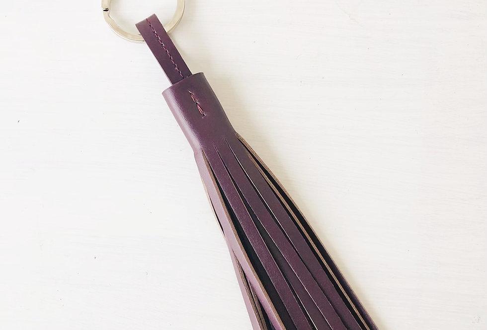 Keyholder Tassel Bordeaux