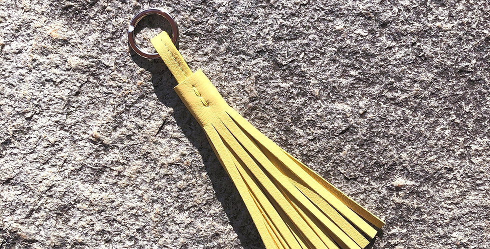 Keyholder Tassel Long Lemon