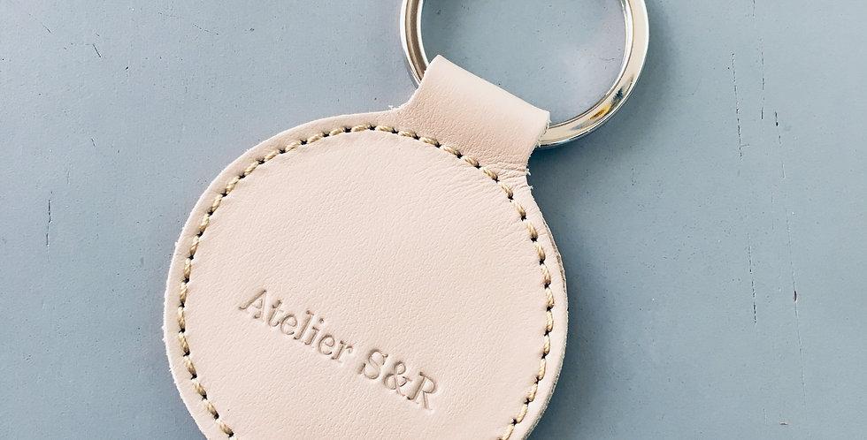 Keyholder round Sand