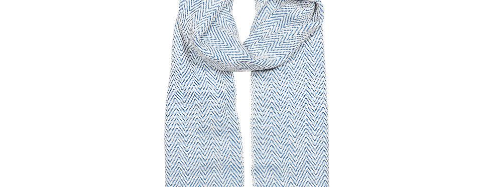 Maxi-Schal Wasserblau