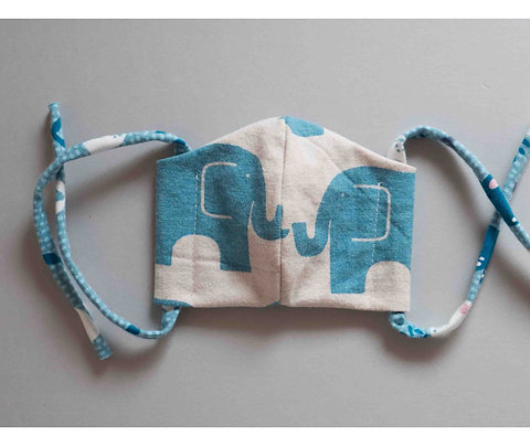 Gesichtsmaske Elefanten