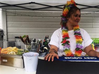 Fête hawaïenne