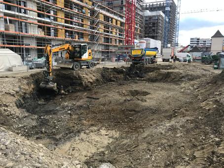 Neue Baustelle: Schlieren, Geistlich-Areal BF 2.1