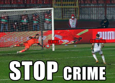 STOP Crime Meme