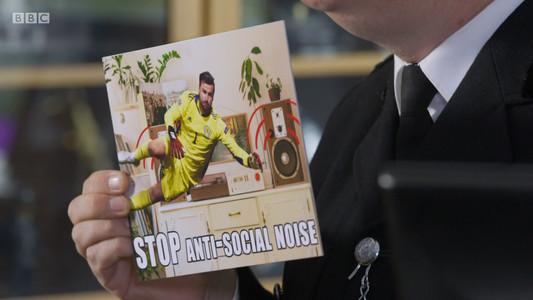STOP Antisocial Noise Meme Still