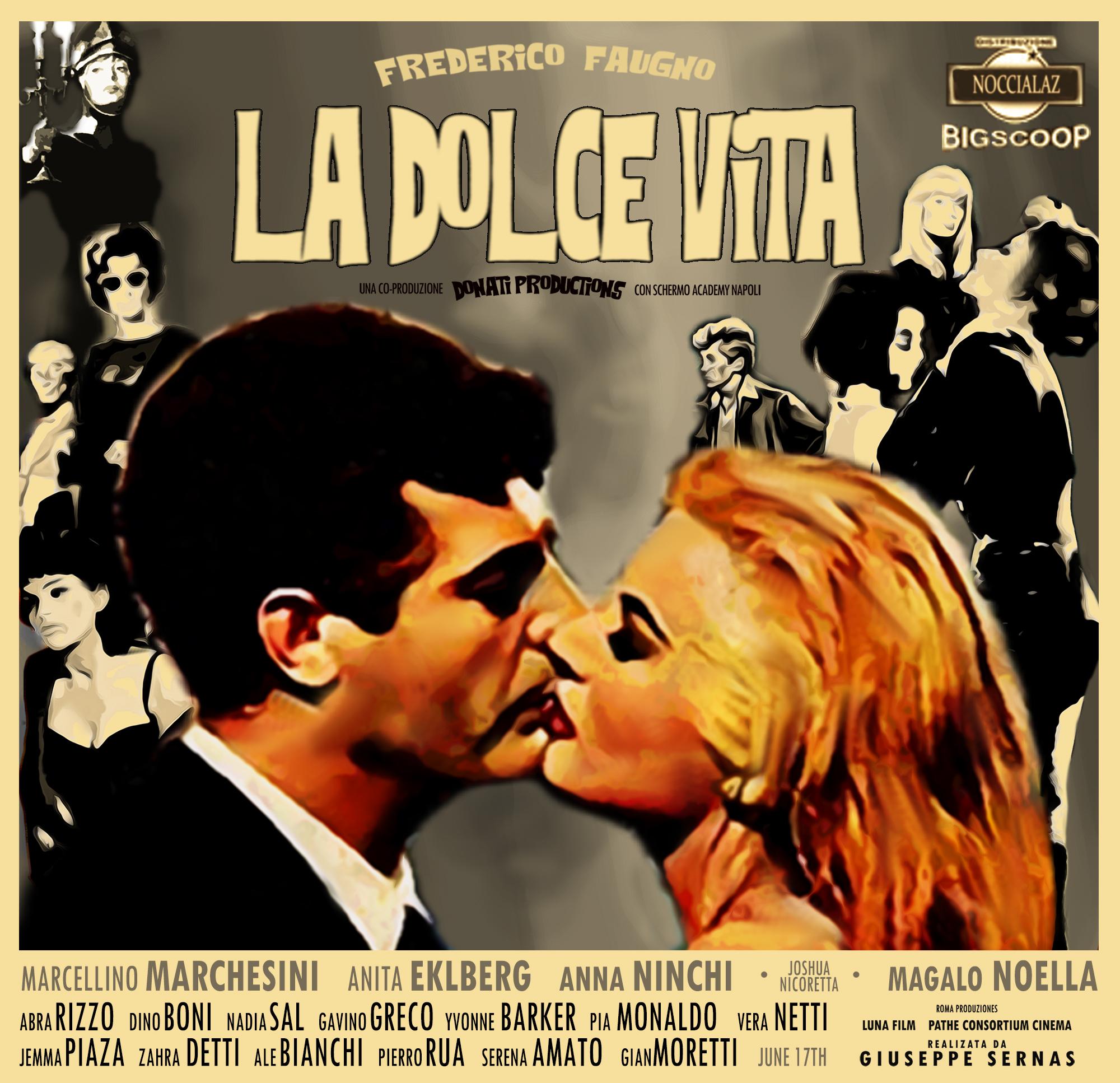 'La Dolce Vita' Poster Re-design