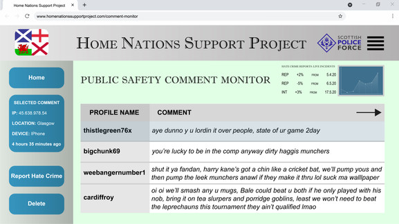 Home Nations Support Project