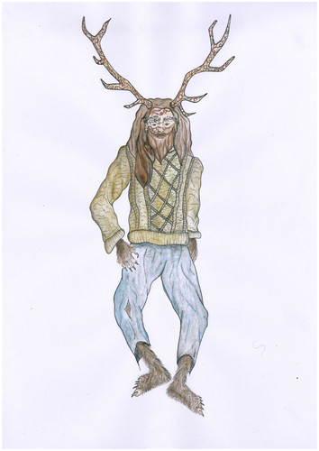 Beast Costume Sketch