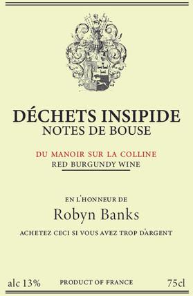 Comedy Wine Label