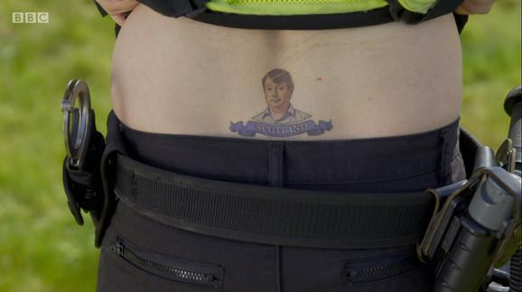 Charlie's Tattoo Still