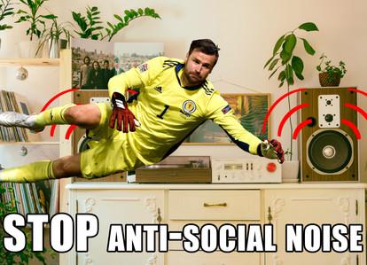 STOP Antisocial Noise Meme