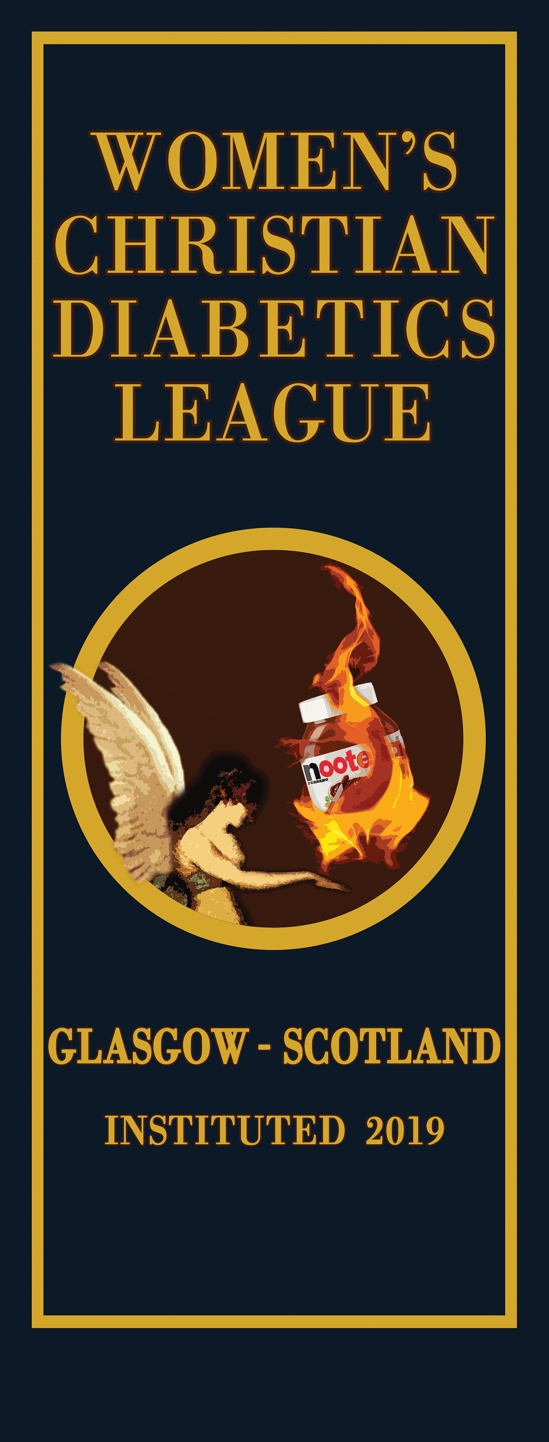 Spoof Diabetics League Poster Design
