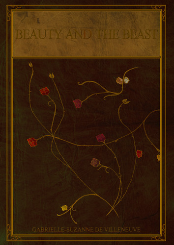 'Beauty and the Beast' Book Cover Design