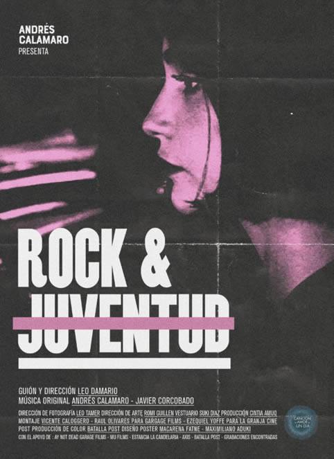 Andrés Calamaro presenta el vídeo de 'Rock y juventud'