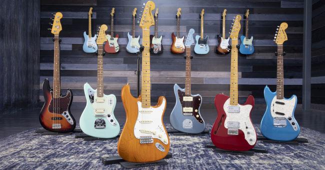Fender y un año de ventas