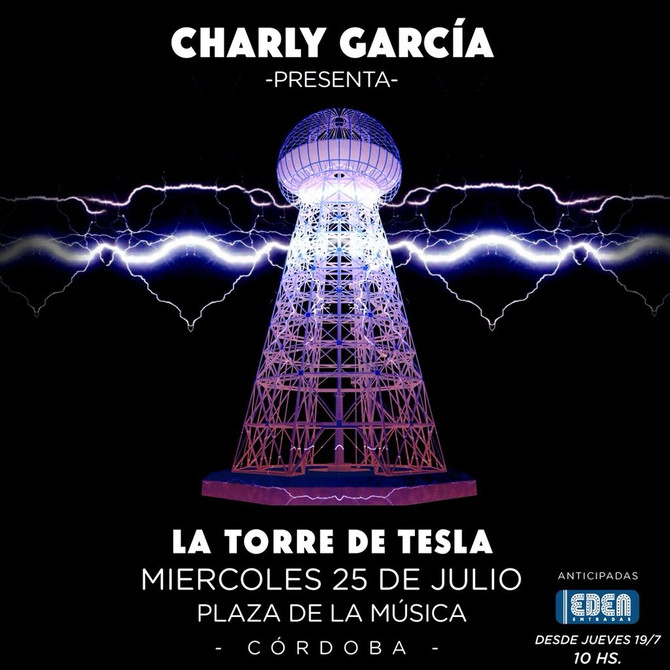 Se confirmó que Charly tocará en Córdoba
