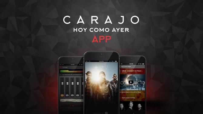 Carajo lanzó una innovadora aplicación para sus fans