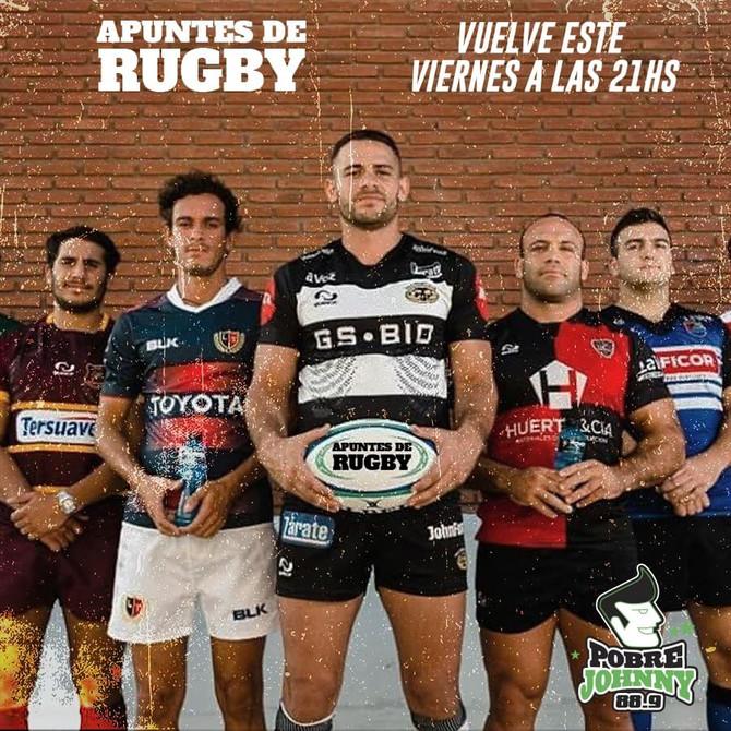 Vuelve 'Apuntes del Rugby' a Pobre Johnny