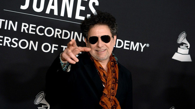 Calamaro doblemente premiado en los Grammy